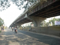 Fly Over at the Intersection Point of J. K. Saha Culvert / WIPRO