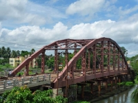 Steel Arch Bridge over Ichhamati River (Bangaon to Chakda)